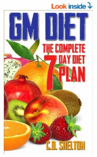 GM Diet: The Complete 7 Day Diet Plan