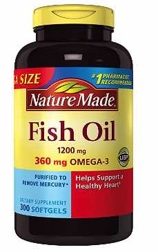 Nature Made 1200mg of Fish Oil