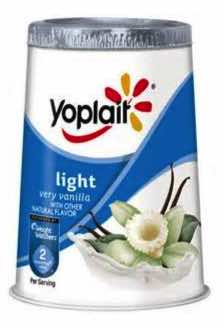 Yoplait Yogurt Light