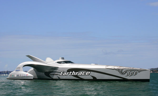 Earthrace Powerboat