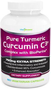 VitaBreeze Turmeric Curcumin Supplement