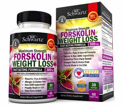 BioSchwartz Forskolin Extract for Weight Loss