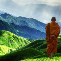 Tibetan buddhist monk