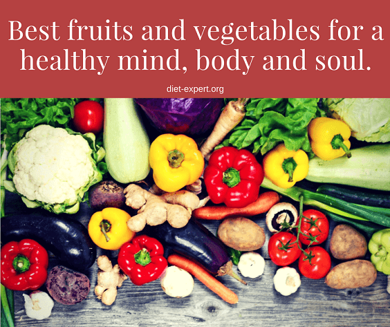 Best fruits and vegetables