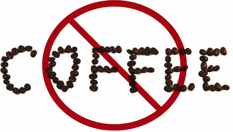 say no to coffee